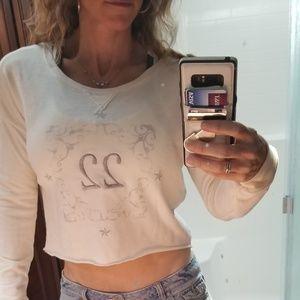 Sz. M Hollister crop sweatshirt